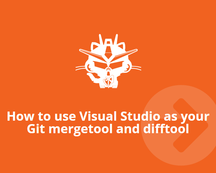 How to use Visual Studio as your Git mergetool