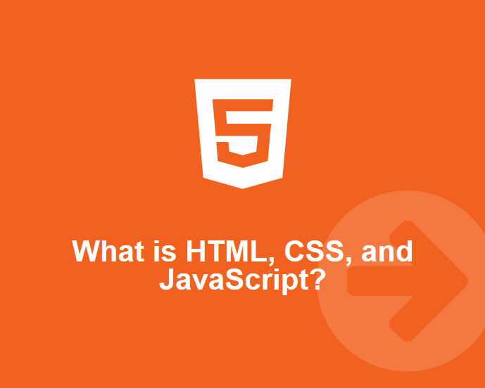 What is HTML, CSS, and JavaScript?
